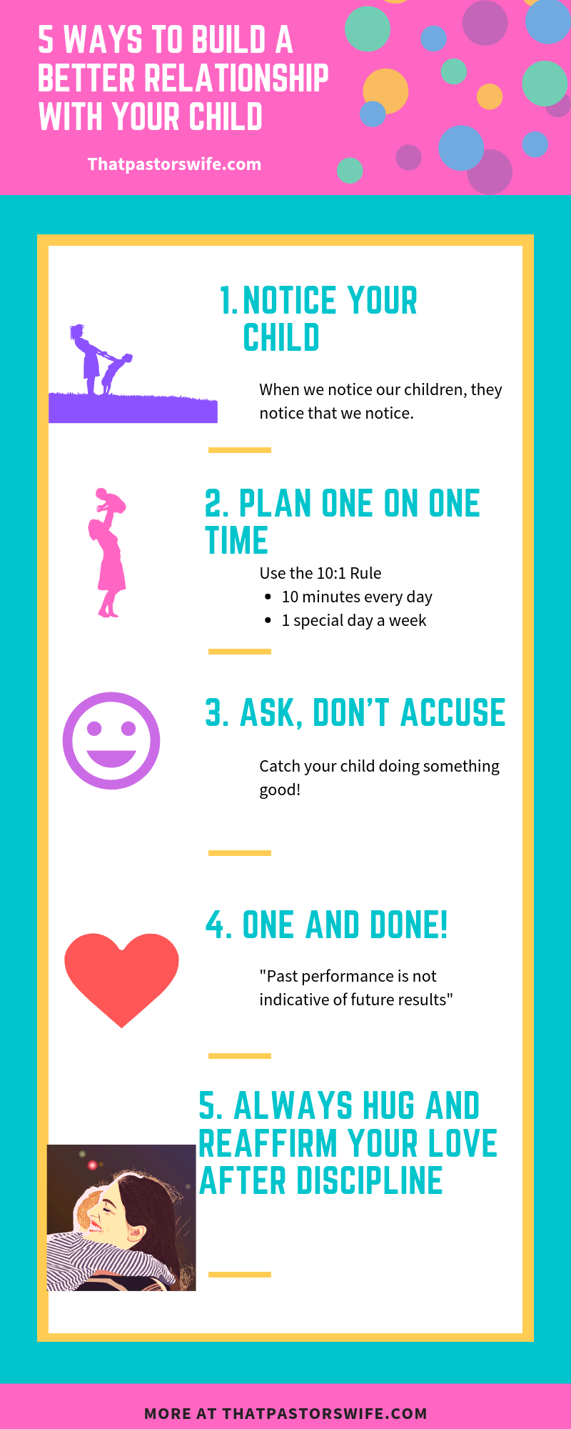 5 ways to build a better relationship with your child